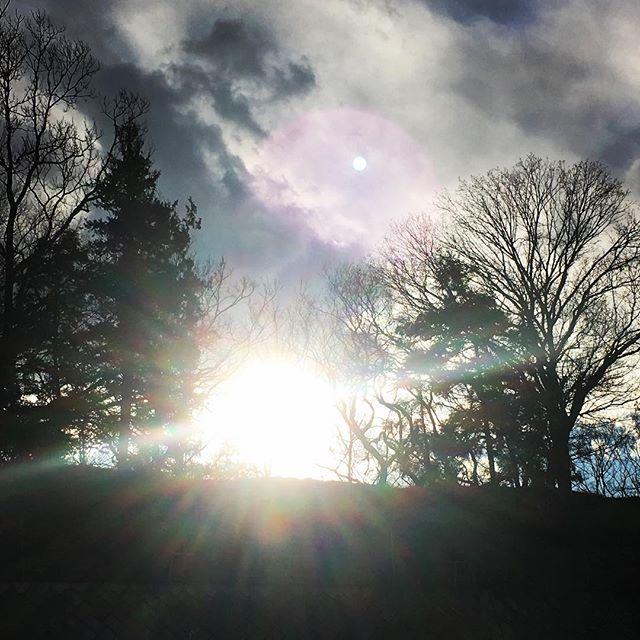 【ぐもにん2301】言葉は自分から奏でられる音楽。今日も「笑顔の選択」と。#goodmorning #beautifulsky #sunlight #trees #cloudart