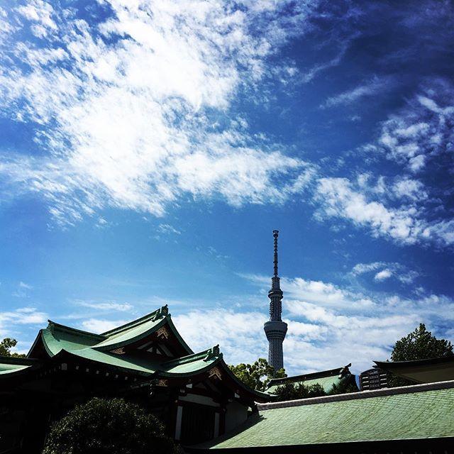 【ぐもにん2407】自分の塩梅を見極める。今日も「笑顔の選択」と。#goodmorning #skytree #tokyo #bluesky #blue