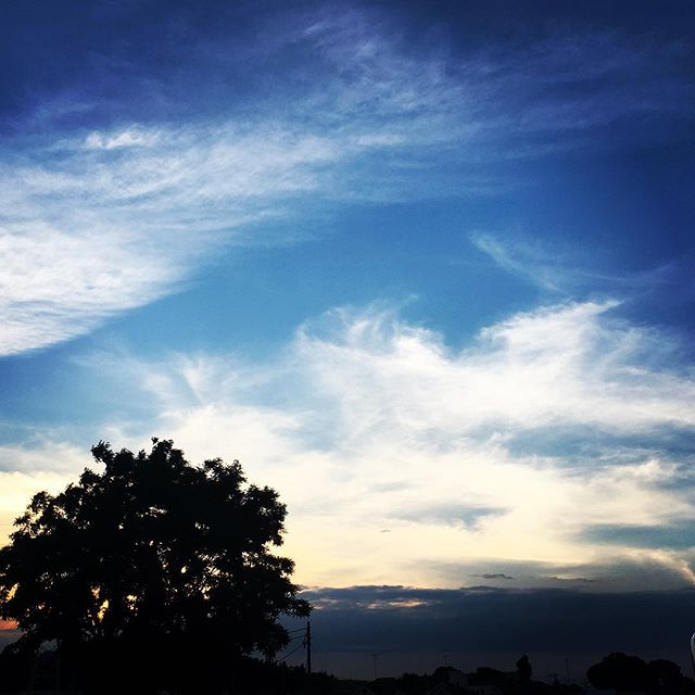 【ぐもにん2454】枠をスルリと抜けていこう。今日も「笑顔の選択」と。#goodmorning #beautifulsky #beautiful #sunset #cloudart #bluesky #sky