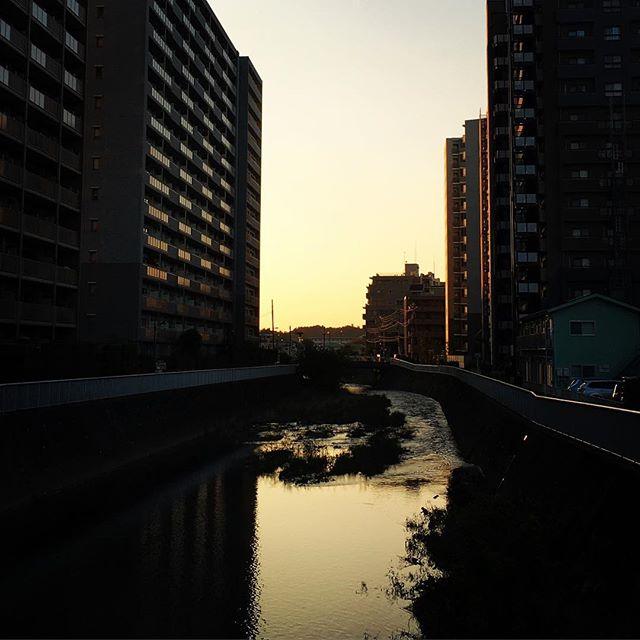【ぐもにん2561】自分の機嫌は自分で作る。今日も「笑顔の選択」と。#goodmorning #sunrise #beautifulsky #river #おはよう